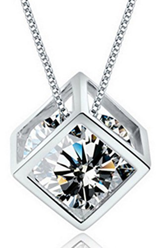 SaySure - S925 Solid Silver Pendant for Women Jewelry