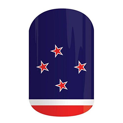 jamberry Nouvelle-Zélande Full feuille de Nail Wraps