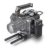 (Tilta Gray) TILTA TA-T01-A-G Cámara de Cine de Bolsillo para BMPCC 4K Cage Jaula Blackmagic 4K Rig (Tactical Kit)