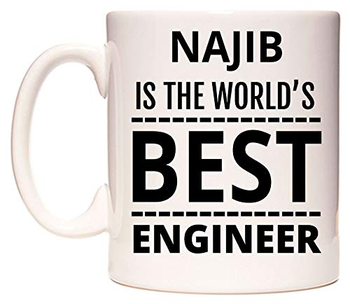 NAJIB Is The World's BEST Engineer Becher von WeDoMugs