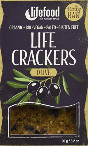 lifefood Crackers Olive - 8 Packungen à, 720 g