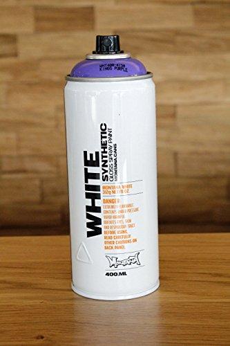 Montana WHITE Sprühdose CAN, 400 ml - kings purple