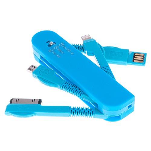 DAM. DMM373. Cable 3 En 1 Forma Navaja. Cabezales