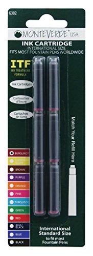 Color: Borgoña Monteverde (Est. 1999) siempre ha sido el líder de la industria de bolígrafos finos en la introducción de nuevas formas y colores inimaginables. Siendo una filial de propiedad total de Yafa Pen Company (Est. 1978) ha proporcionado el r...