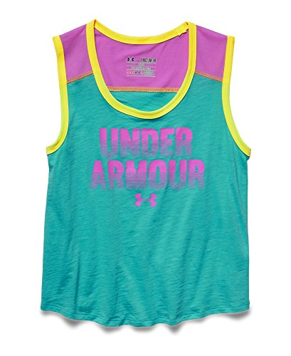 Under Armour Big Girls' UA Muscle Tank Youth X-Large Mosaic