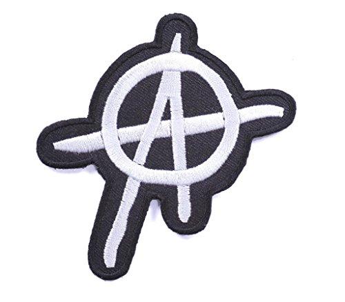 toppa punk toppa rock toppa termodesiva toppa patch termoadesiva Anarchy 7 x 8 cm