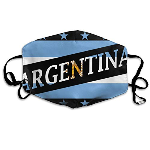 Argentina Flag Anti-dust Mouth Mask Face Masks Mouth Cover Man Woman