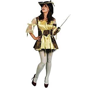 Morphsuits - Disfraz capitán pirata para mujer, talla S (MCCFOBPS)