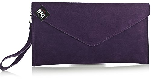 Viola One da Handbag Purple donna polso Big Shop Borsetta Dark Tn4xYq0P