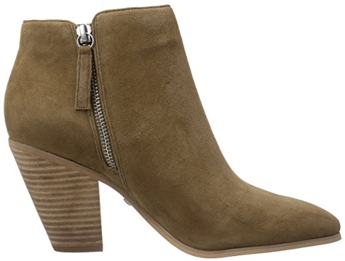 Buffalo London 414-4469 SUEDE Damen Kurzschaft Stiefel Beige (Camel)