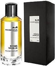 Mancera Roses Vanille Eau de Parfum for Women, 120 ml