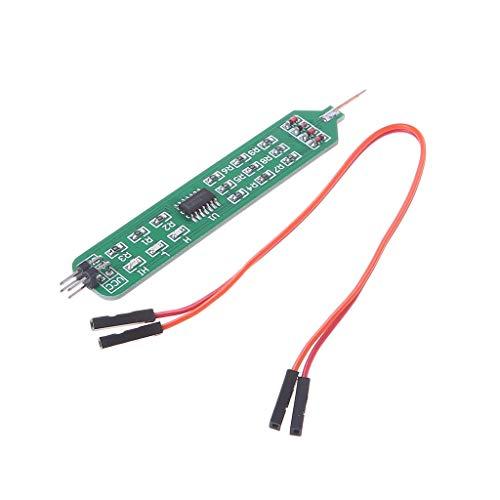 BIlinli Pen Tester Tester Logikpegel 5V3.3V Digital Circuit Debugger Elektronische Produktversorgung Für den Digital Circuit Debugger sind praktische und schnell zu lernende Board-Tools erforderlich