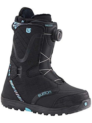 Burton - Boots De Snowboard Femme Limelight Boa - Taille:one Size Noir/SNOW LEOPARD