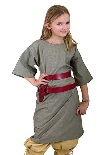 Ready for Battle Tunika für Kinder und Erwachsene LARP-Gewandung Mittelalter verschiedene Farben XXXS-XXL (XXL, (Epic Kinder Halloween Kostüme Für)