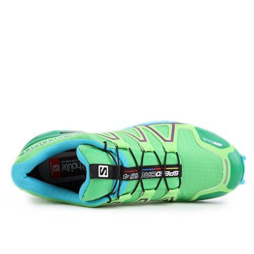 Salomon Damen Speedcross 4 Cs Traillaufschuhe Grün