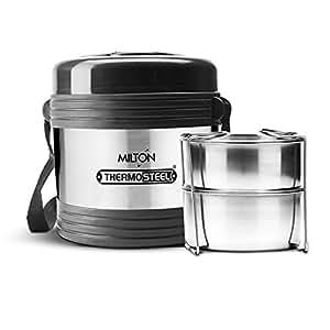 Milton Legend Container Thermosteel Tiffin, 240ml (Steelplain)