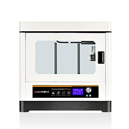 JGAURORA A8 Voll Metallrahmen Struktur FDM 3d Drucker maschine, Große 3d Drucker mit 350 * 250 * 300mm Build Größe - 4
