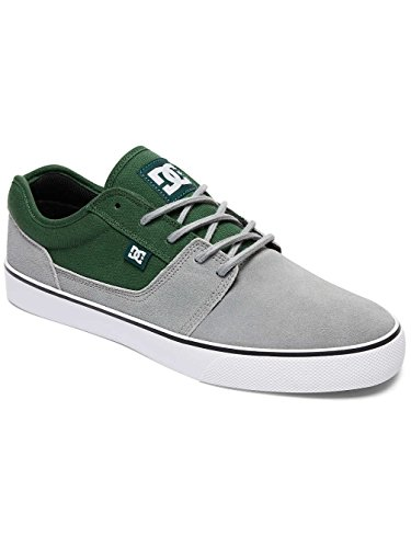 Herren Skateschuh DC Tonik Skate Shoes grey/grey/green