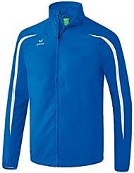 Erima running–Chaqueta Niños, color azul y blanco, tamaño FR : XS/S (Taille Fabricant : 164)