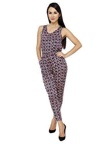 Renka Printed Crepe Jumpsuits for Women