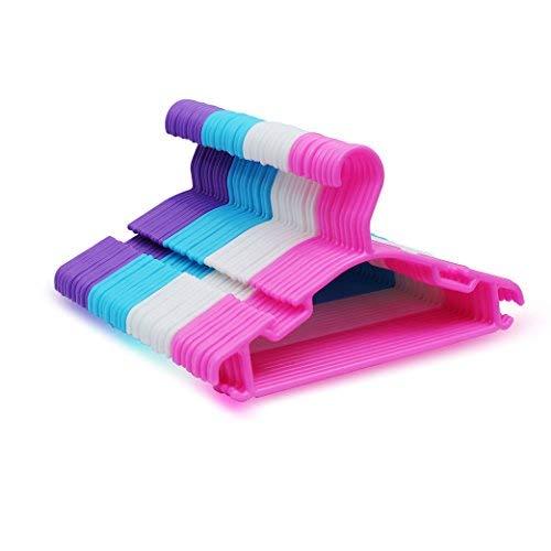 Agapo Kleiderbügel Kinderkleiderbügel für Kinder Baby 40Stk 27.5cm