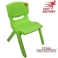 A406 Children Strong Stackable Kids Plastic Chairs Picnic Party Garden Nursery Club Indoor Outdoor