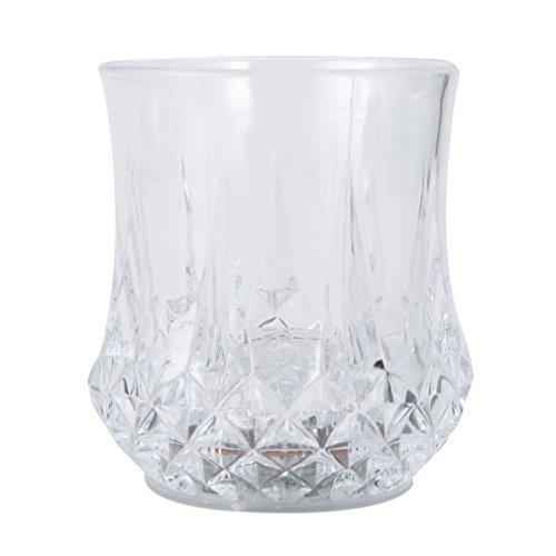 l¨¹hendes Wasser Liquid Light-up Weinglas-Schalen-Becher-Party-Activated ()