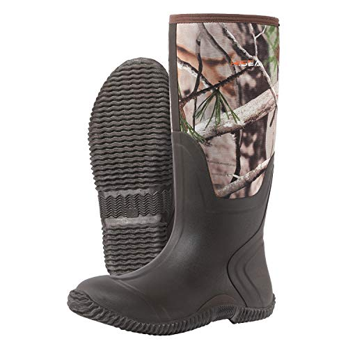 HISEA Neoprene Mucker Mens Wellies Wellington other side view