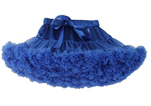 Facent Damen Tüllrock Tütü Tutu Rock Ballettrock Petticoat Erwachsene Größe XL (Für Erwachsene Blau Tutus)