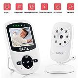 Babyphone mit Kamera, 2.4 GHz Wireless Baby monitor HD Digital Video Babykamera mit Temperaturüberwachung,Nachtsicht,Schlaflieder,Gegensprechfunktion, ECO-Modus,900ft Übertragungsreichweite