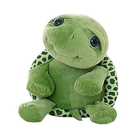 Edealing (TM) Kinder Baby Big Eyes Schildkröte Plüschtier Schildkröte Puppe Schildkröte Stitch Plüschtiere -Green