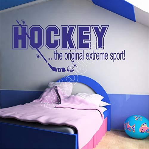 wangpdp Eismaschine Sport Schlafzimmer Kinder Aufkleber Applique Art Vinyl Home Decor Wandaufkleber Wandaufkleber Schwarz 39 x 85 cm