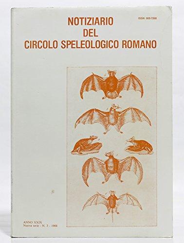 Notiziario del circolo speleologico romano
