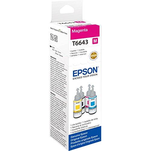 Epson Ecotank Ink Bottle - Magenta Test