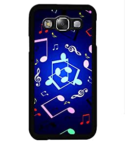 Crazymonk Premium Digital Printed Back Cover For Samsung Galaxy A7 Dual