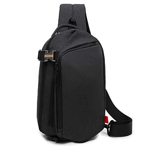 große Kapazität Brusttasche Herren Schulter Messenger Bag Casual Fashion Outdoor-Tasche ()