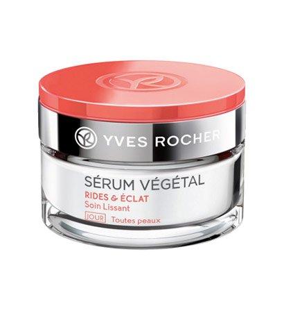 Yves Rocher - SÉRUM VÉGÉTAL Anti-Falten-Tagescreme (50 ml): Anti-Aging-Gesichtscreme für mehr...