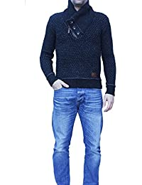 """Antemi - Hommes - Pull en tricot chaud et épais """"Marc"""""""