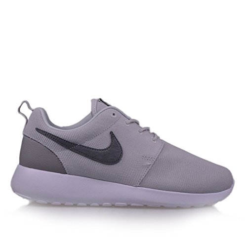 Nike Wmns Roshe One Suede, Sneaker Uomo gray/creme