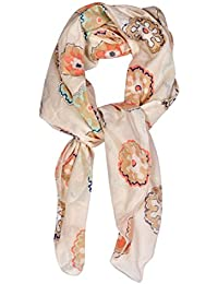 Contrast Living Girls' Cotton Scarf (CLSF131, Multicolour)