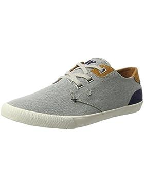 Boxfresh Herren Stern Sh Oxfs/Sde Nvy/Tan Sneaker