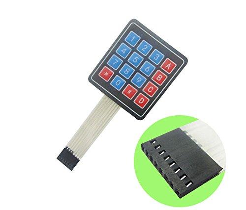 4×4 Universal 16 Key Switch Keypad/Keyboard For Arduino, Raspberry and MCU's
