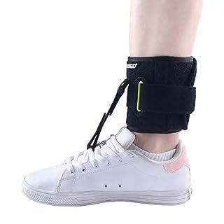 KONMED Adjustable Drop Foot Support AFO AFOs Brace Strap Elevator Poliomyelitis Hemiplegia Sroke Universal Size