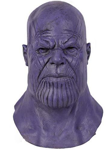 Thanos Kostüm - Chiefstore Thanos Maske Endgame Cosplay Kostüm