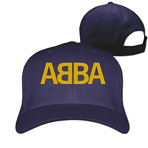 ABBA Band Logo Unisex Baseball Fishing Cap, choice of colours.