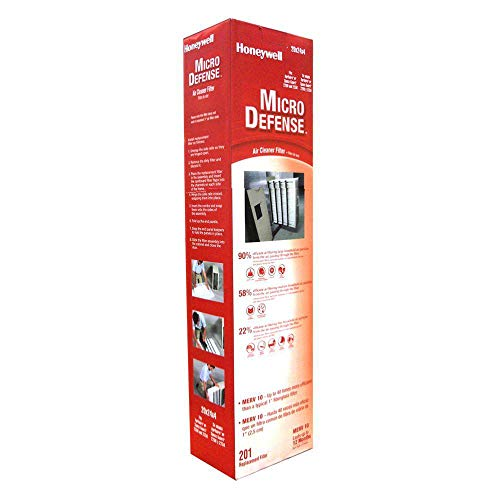 Honeywell CF2200A1005 4-Inch High-Efficiency Collapsible Air Cleaner Filter by Honeywell