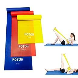 Gymnastikband aus Latex und Gummi