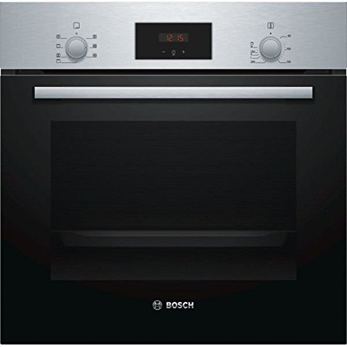 Bosch HBF113BR0 - Horno (Medio, Horno eléctrico, 66 L, 66 L, Negro, Acero inoxidable, Giratorio, Tocar)
