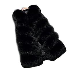 Faux Pelz Outwear Jacke Beschreibung:   -Our Faux Pelz Mantel sind bequem, stilvoll, leicht und bang auf Trend in Herbst und Winter.  -Fashionable und einfach, Solid Farbe kann mit jeder anderen Kleidung abgestimmt werden.  -Unternehmen umweltfreundl...