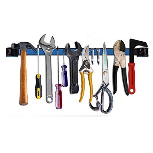 Viviance 12 Zoll Magnet Werkzeughalter Regale Metall-Hardware-Werkzeugleiste Für Garagen Werkstatt (12 Regale Zoll Metall)